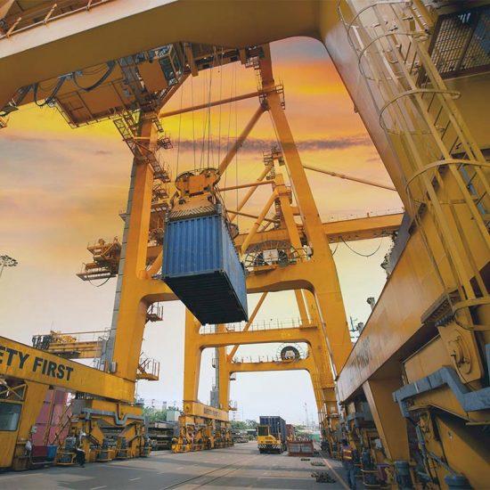 Оборудование для судостроения и портов
