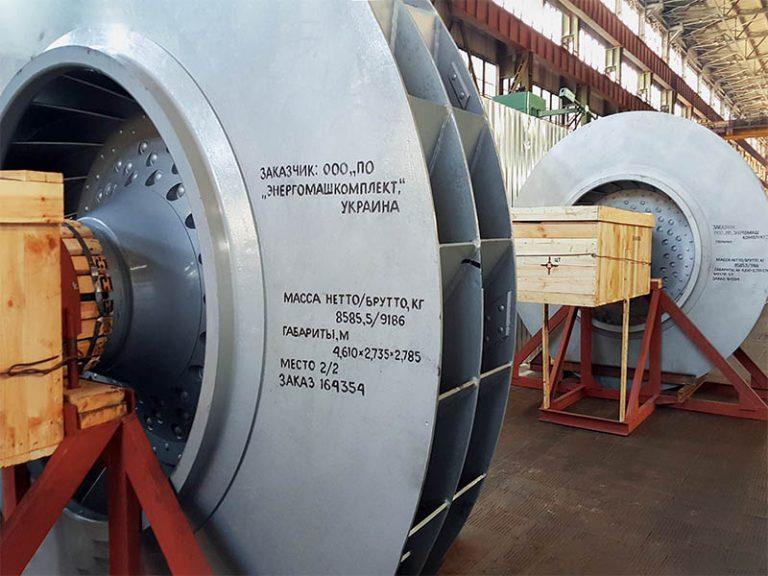 Поставка роторов нагнетателей для ArcelorMittal